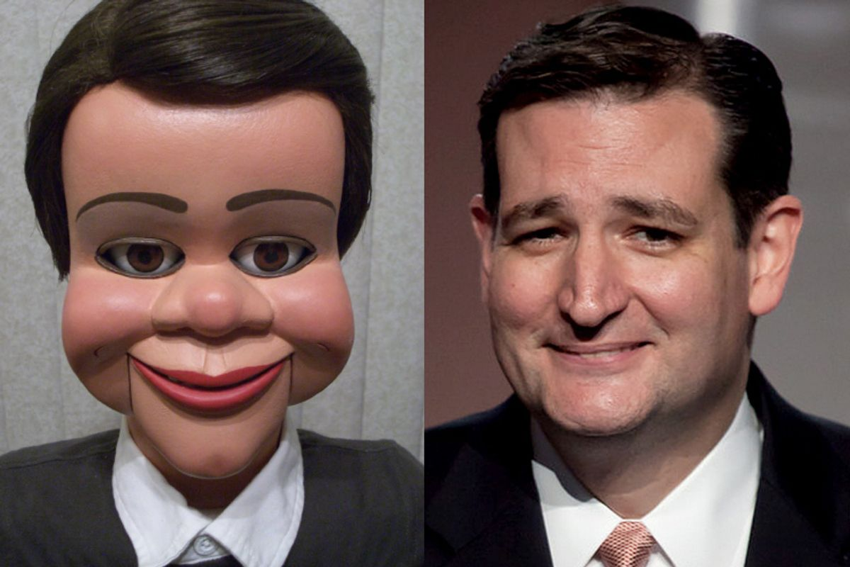 Why Is Ted Cruz's Face So Unsettling? SCIENCE