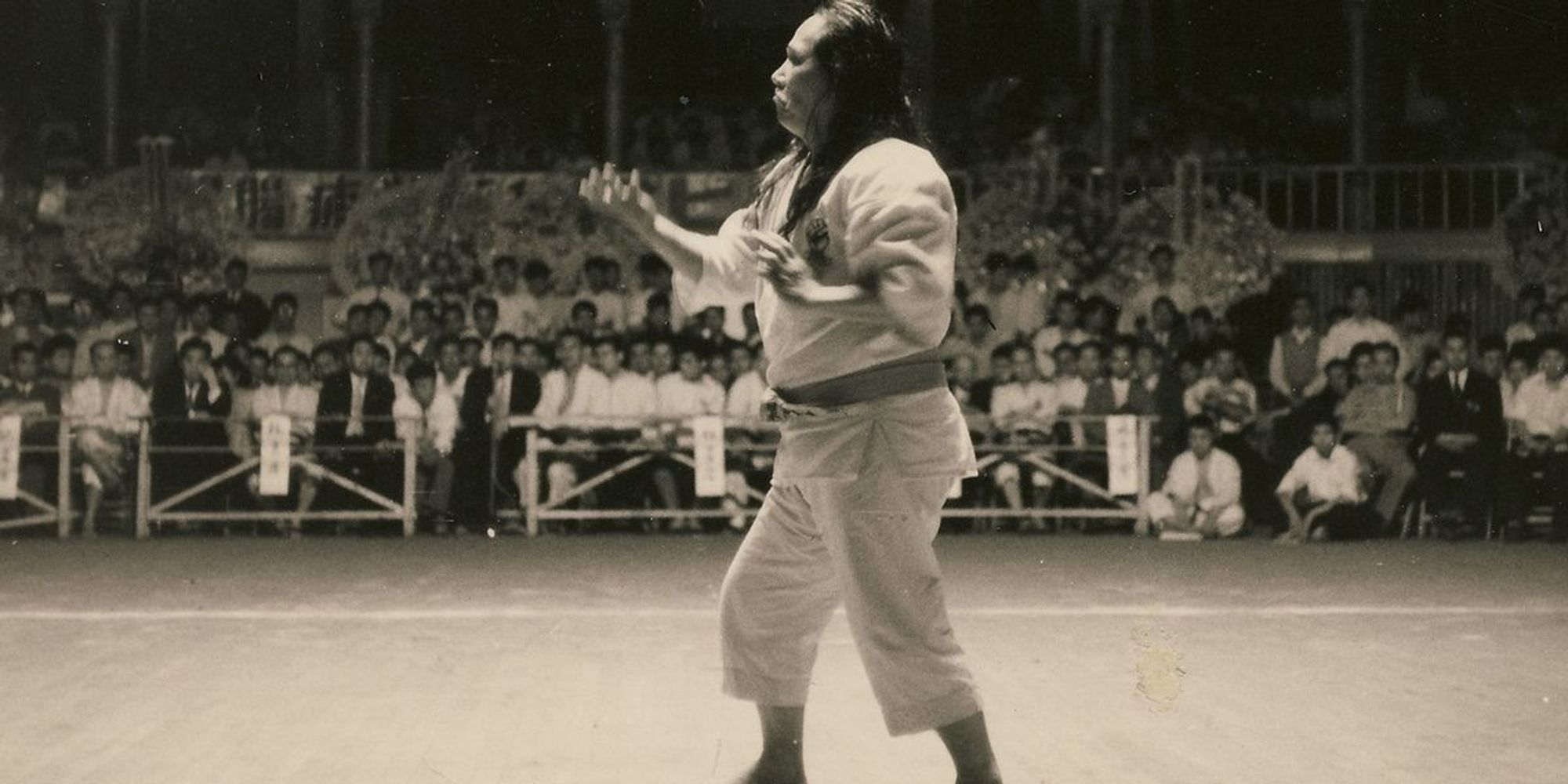 "Black Belt Flashback! Gogen ""The Cat"" Yamaguchi, Head of Goju Karate"