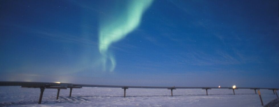 Alaska oil project would use 'chillers' to freeze thawing tundra