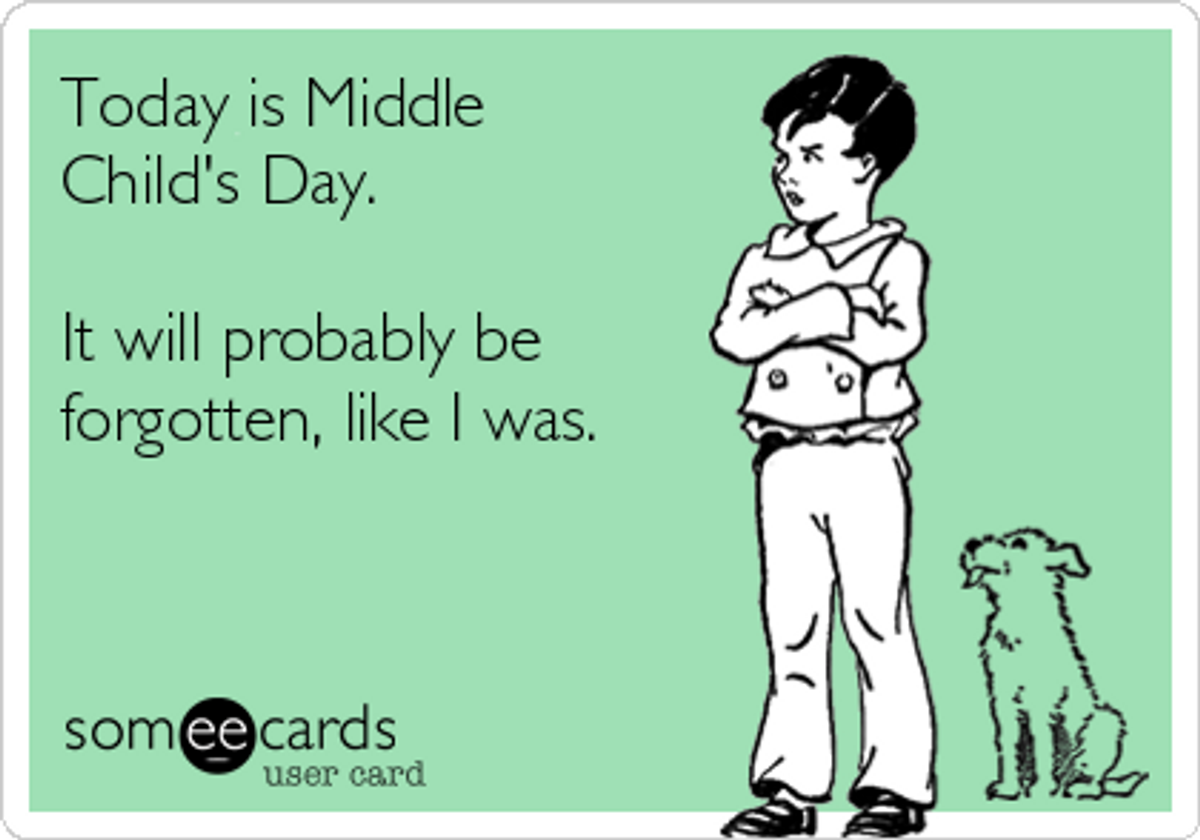 Middle Child Syndrome: It's Real