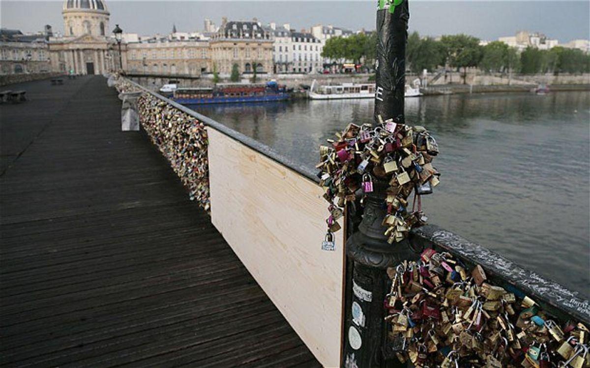 Love Locks Bridge Deemed Vandalism