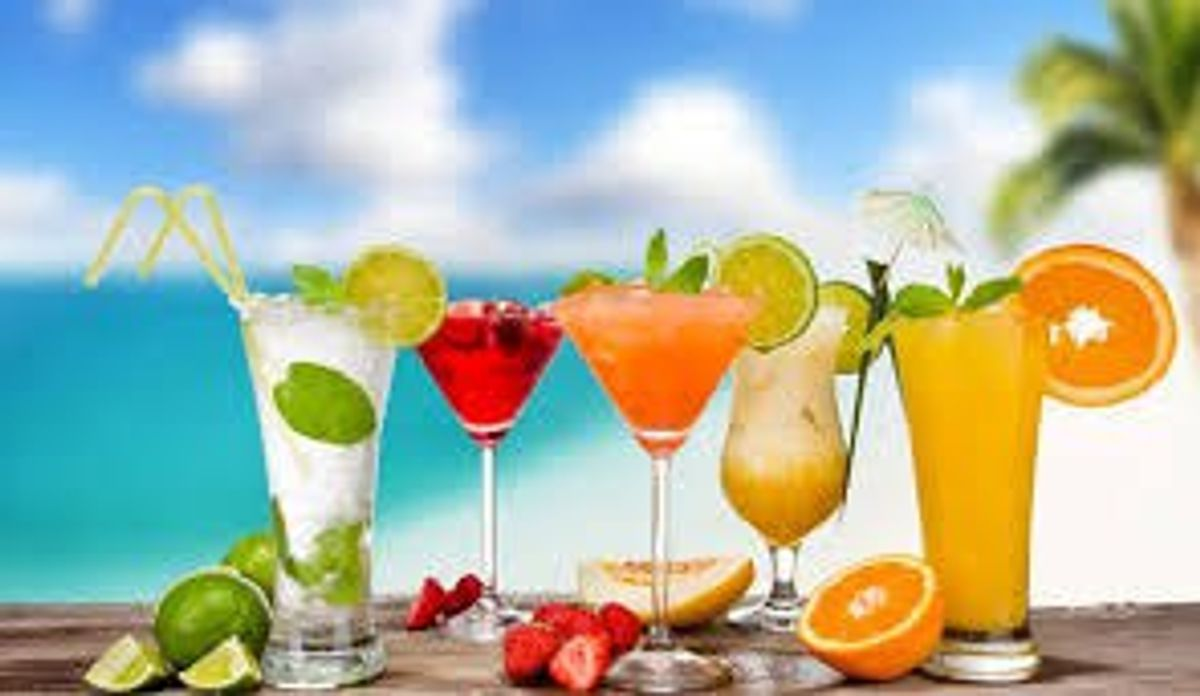 Five Drinks To Make For Your Friends By The Pool This Summer