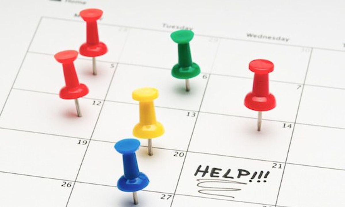 5 tips when making a college schedule
