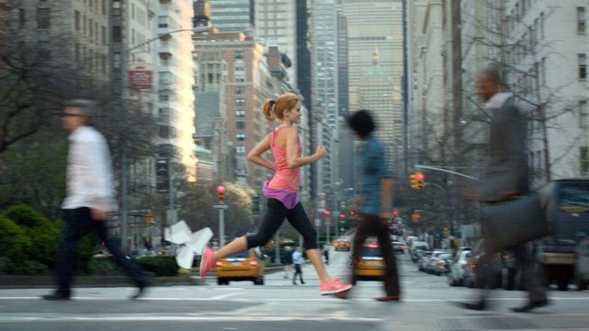 Be a Girl Who Runs