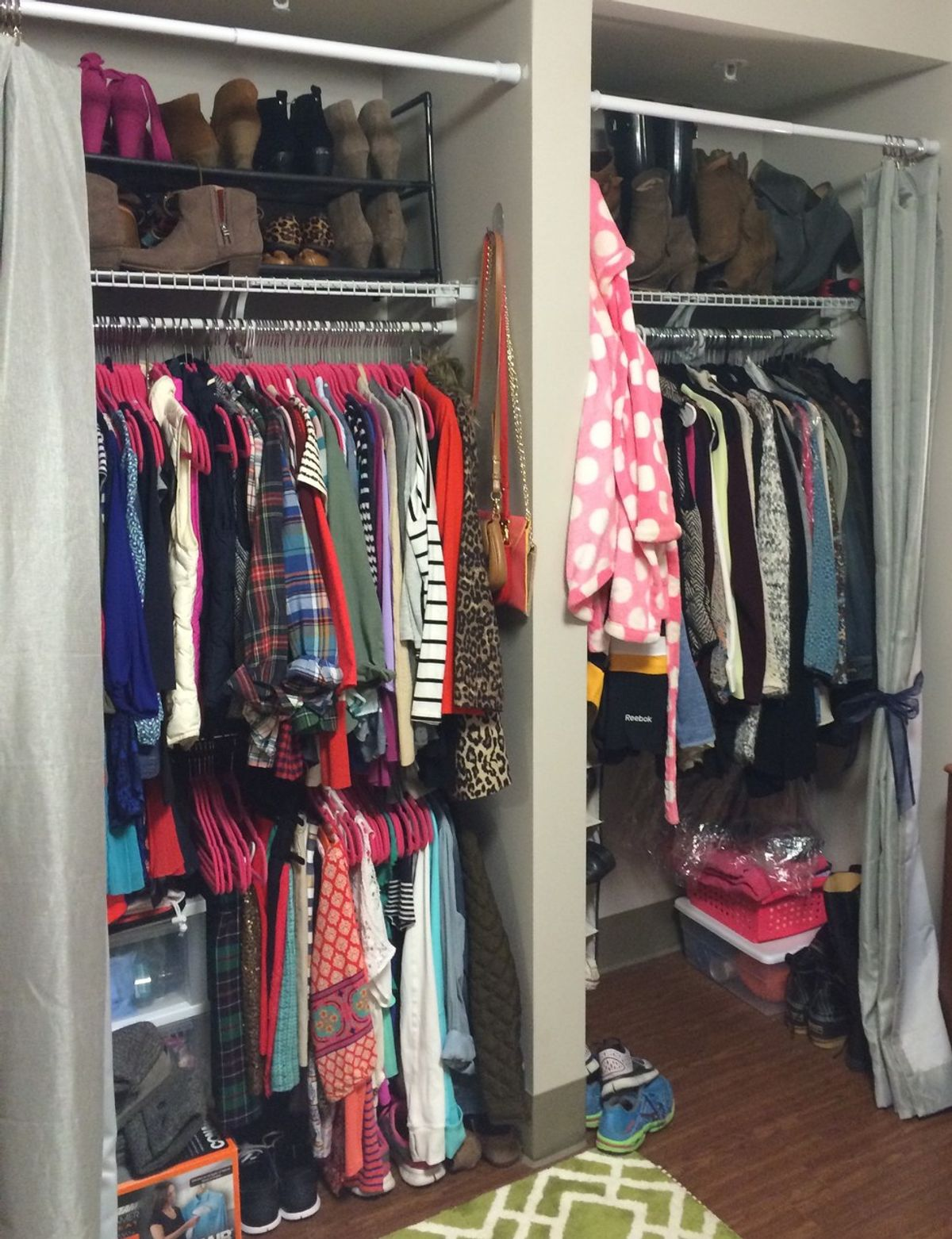 The Ultimate College Packing List: Closet