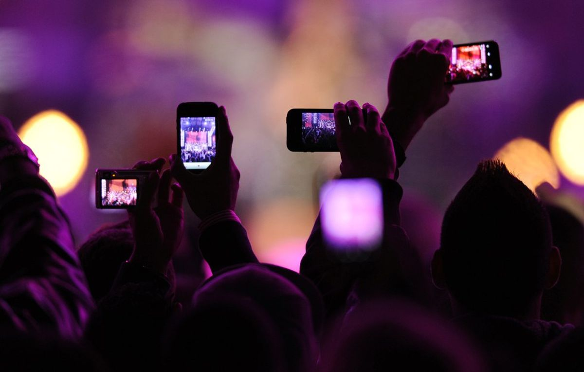How Technology Is Killing Our Live Music Experience