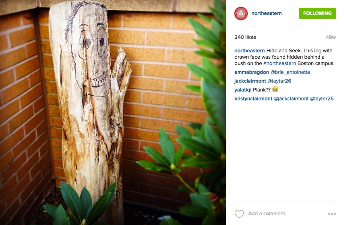 A Breakdown Of Northeastern's Instagram