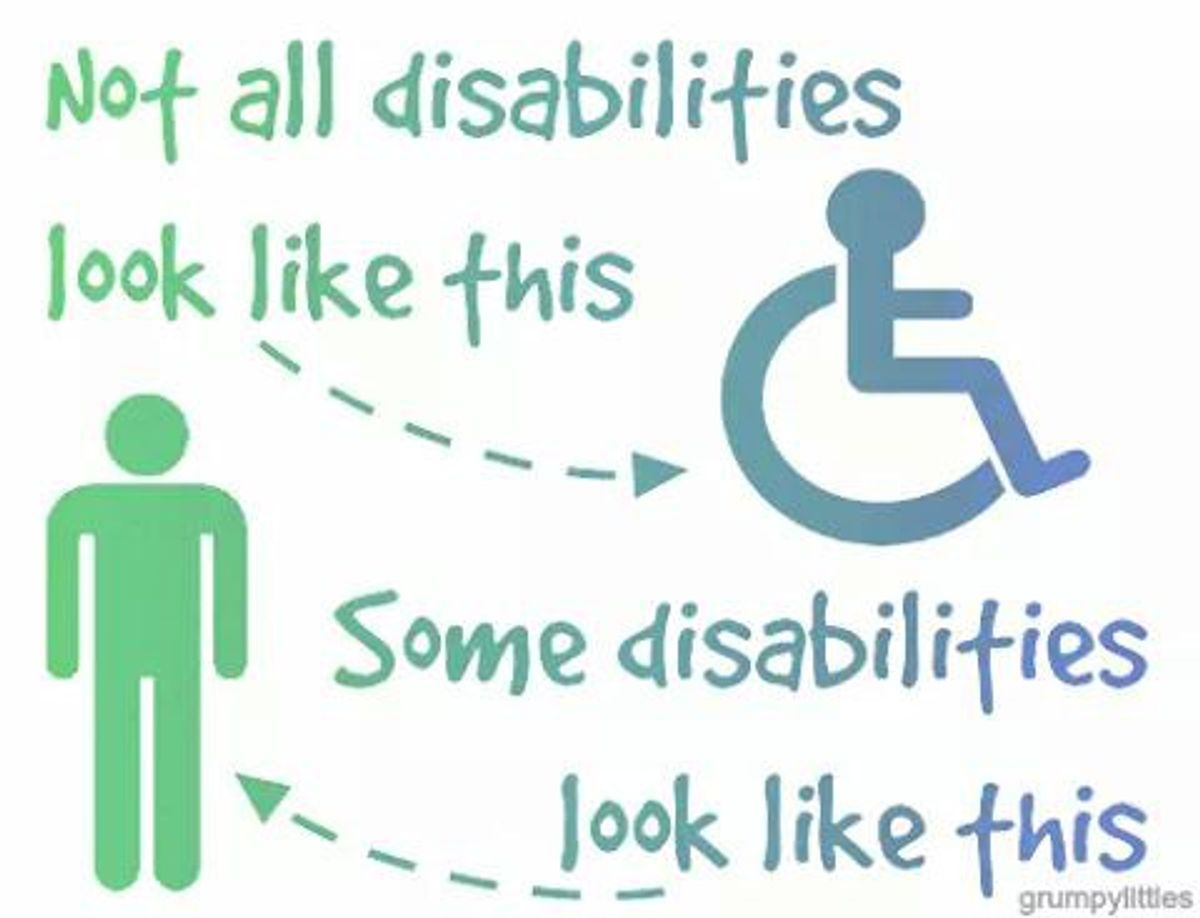 What Not To Say To Someone With An Invisible Physical Disability