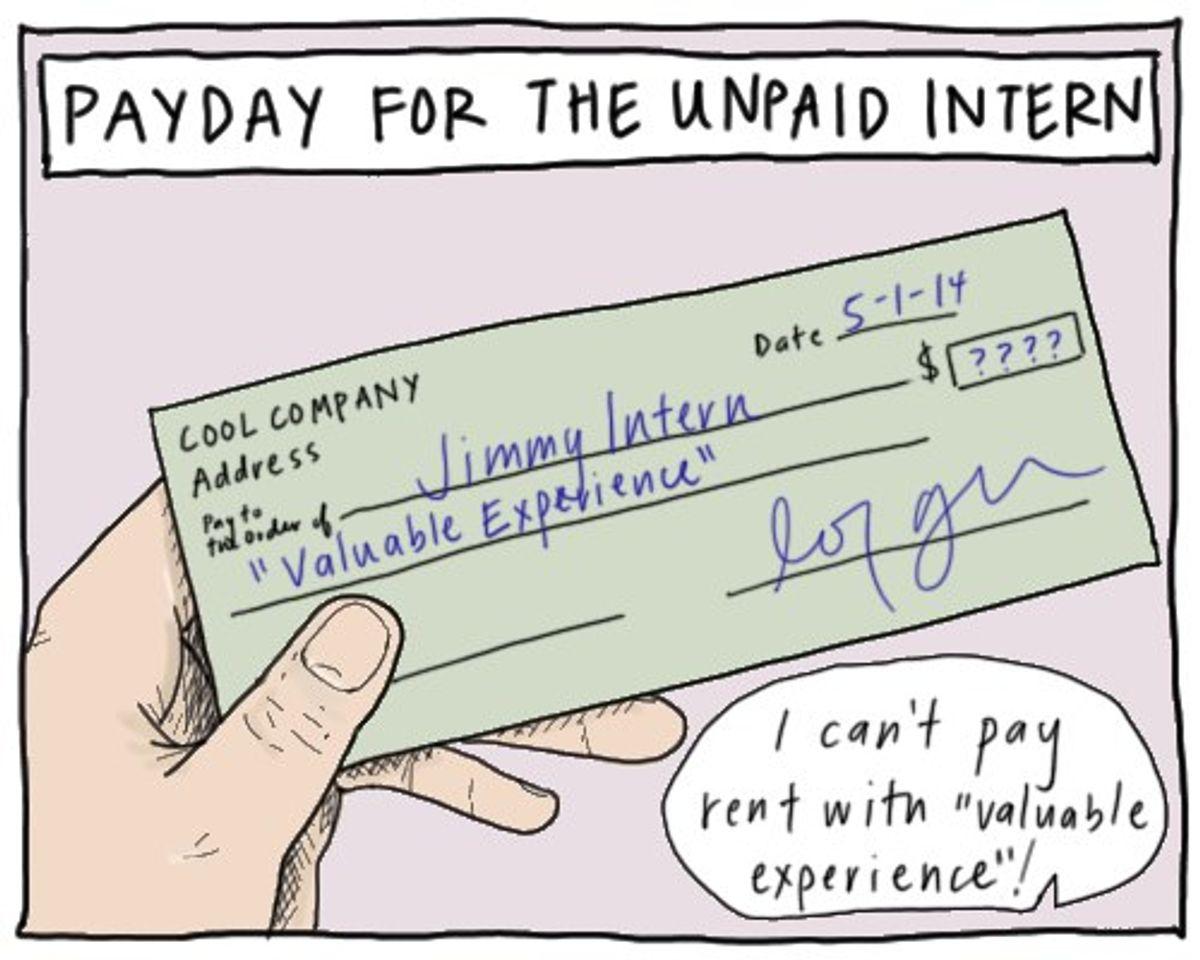 Unpaid Internships Enable Privilege To Shape Important Fields