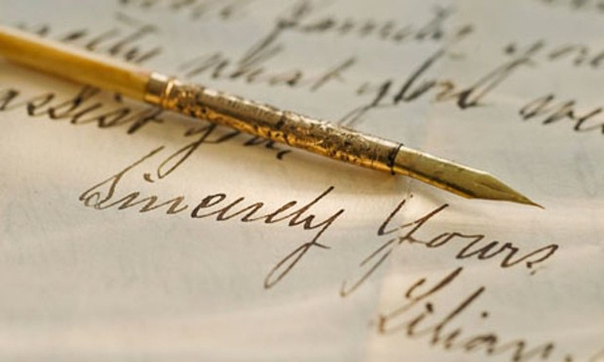 The Value of a Handwritten Letter