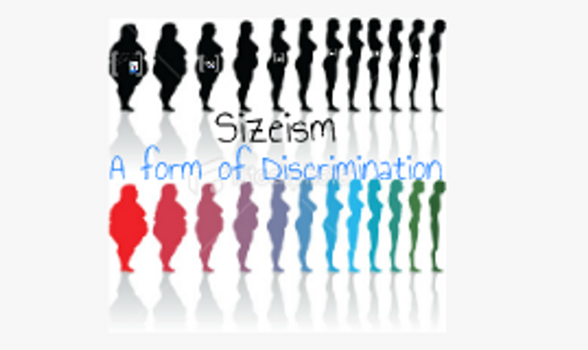Sizeism (And Why It's A Big Problem)