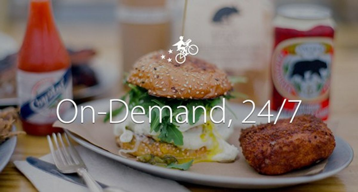 Postmates App Brings Delivery at Your Door
