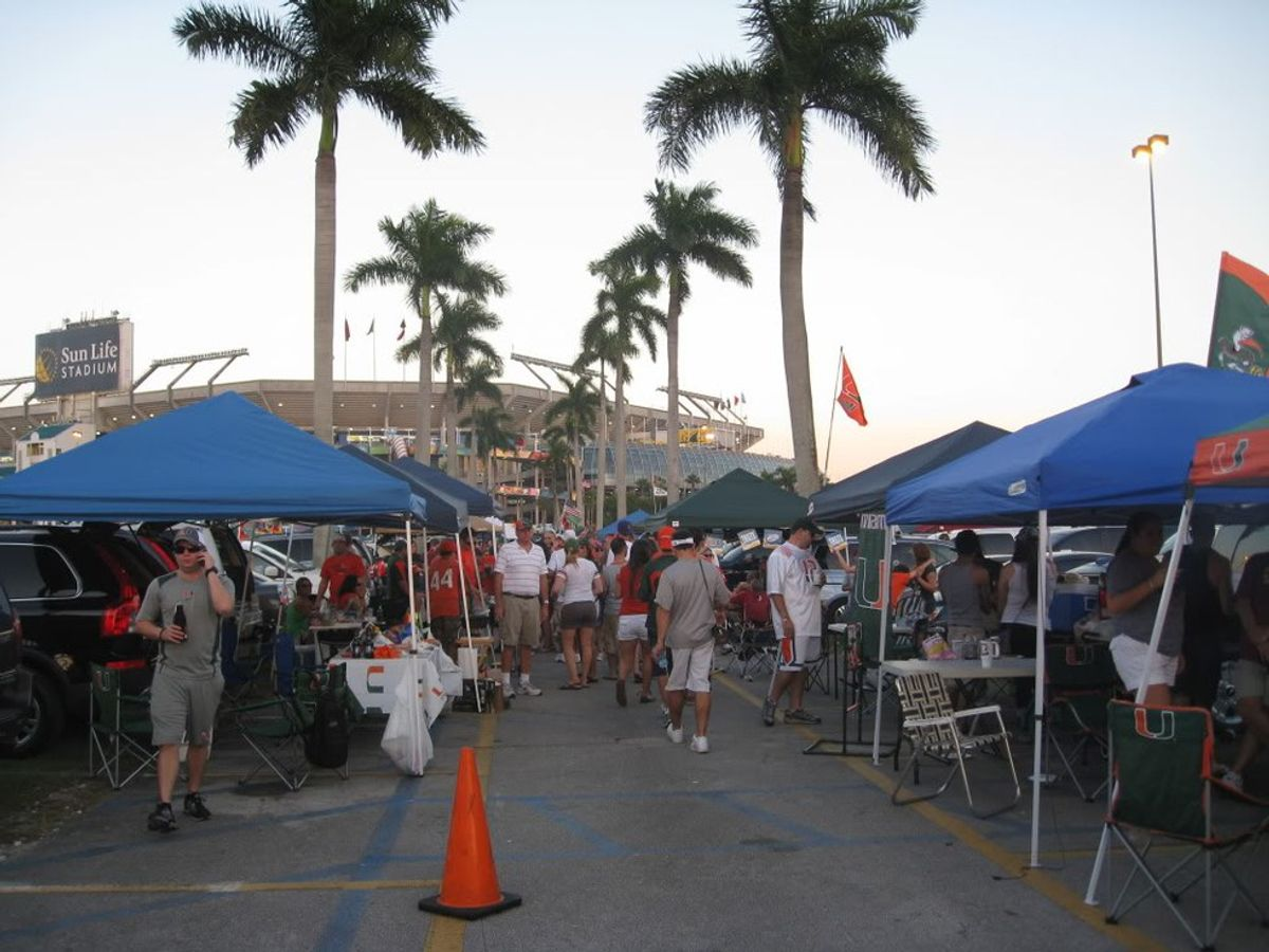 A Timeline Of Your University Of Miami Tailgate