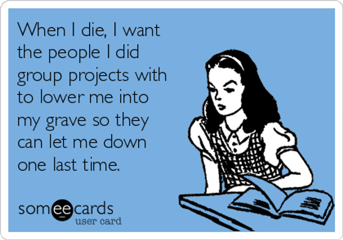 Death By Group Projects