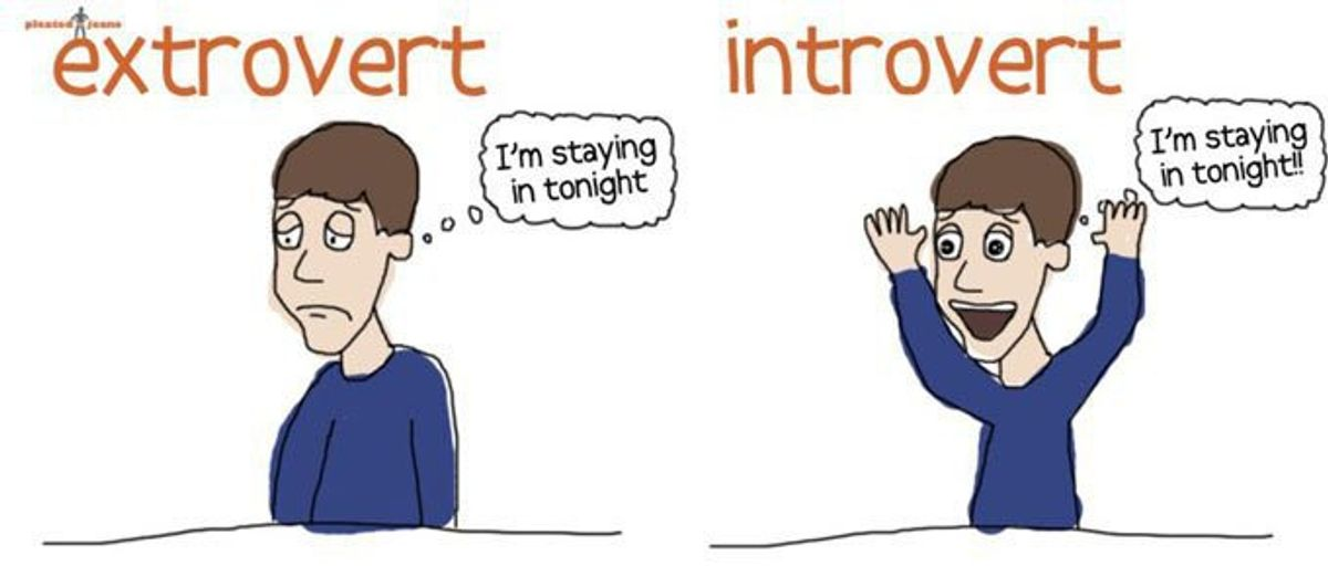 The Struggles Of Being An Extroverted Introvert