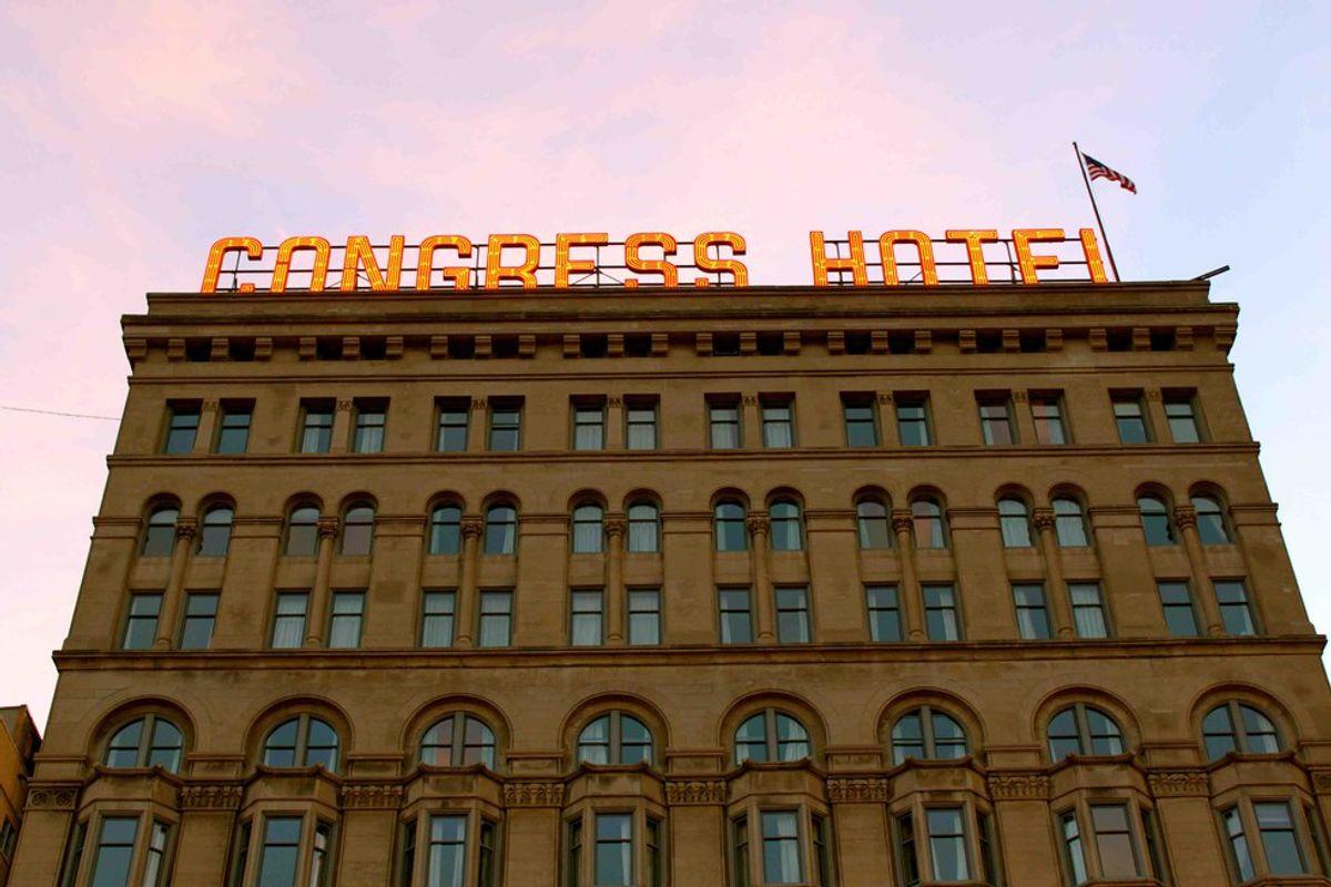 The Dark History Of The Congress Plaza Hotel