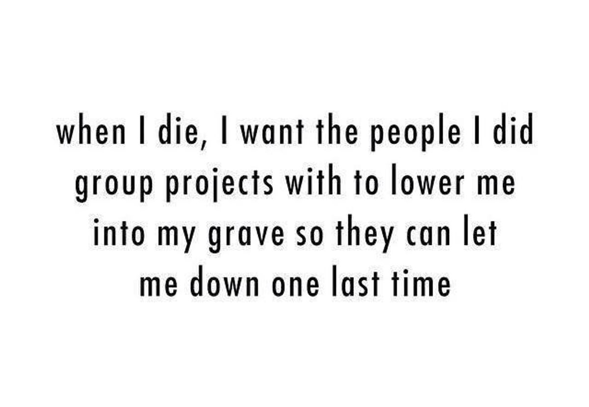 The Art Of Surviving A Group Project