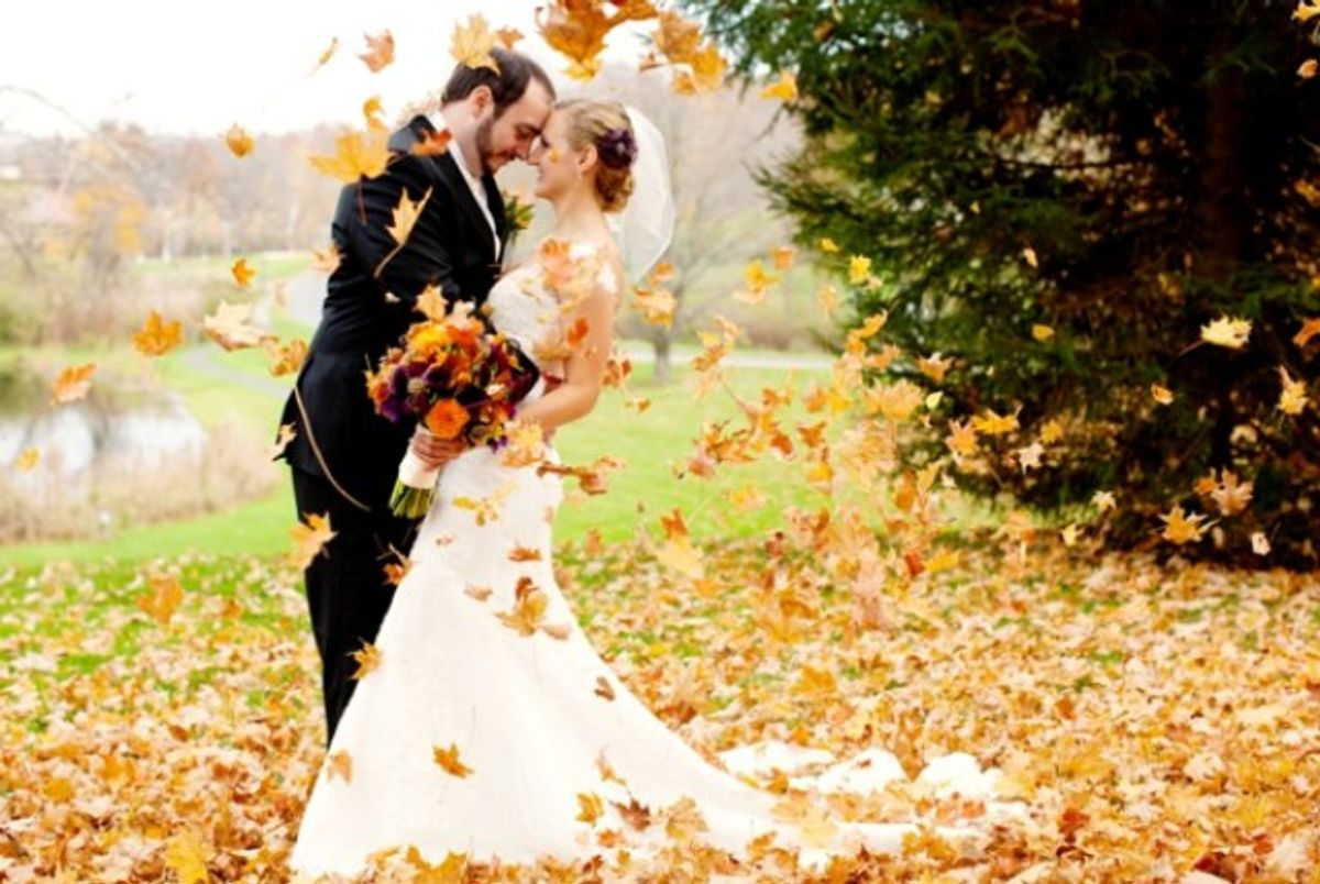 Planning The Perfect Fall Wedding - What You'll Need