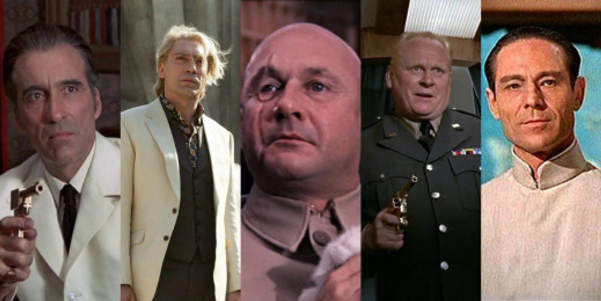 No Mr. Bond, I Expect You to Die: The Top 12 Bond Villains