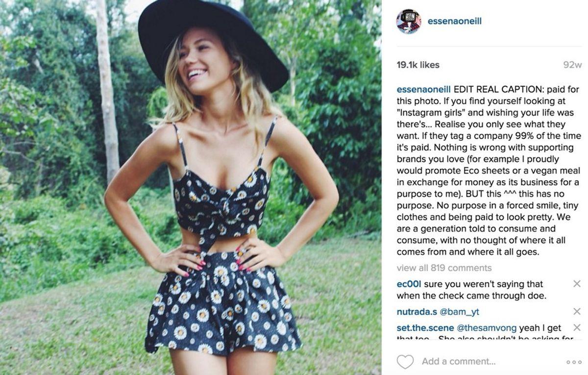 Social Media Is Not Real Life: Essena O'Niell