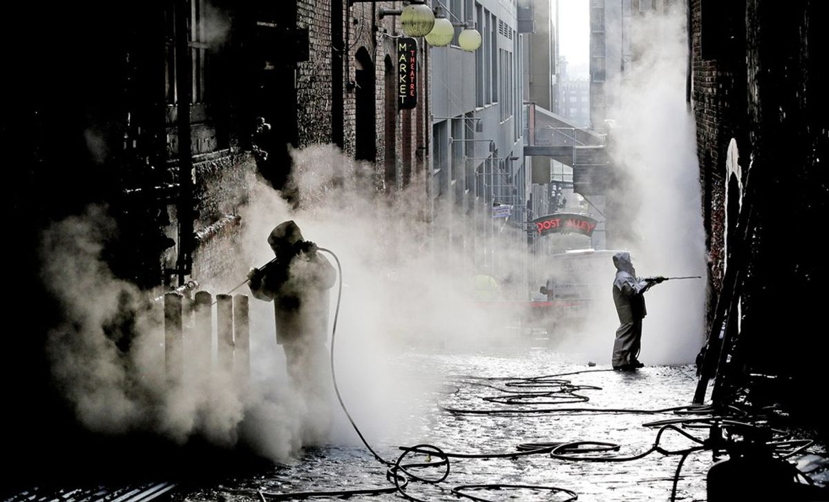 Seattle's Gross Gum Wall Gets Too Gross