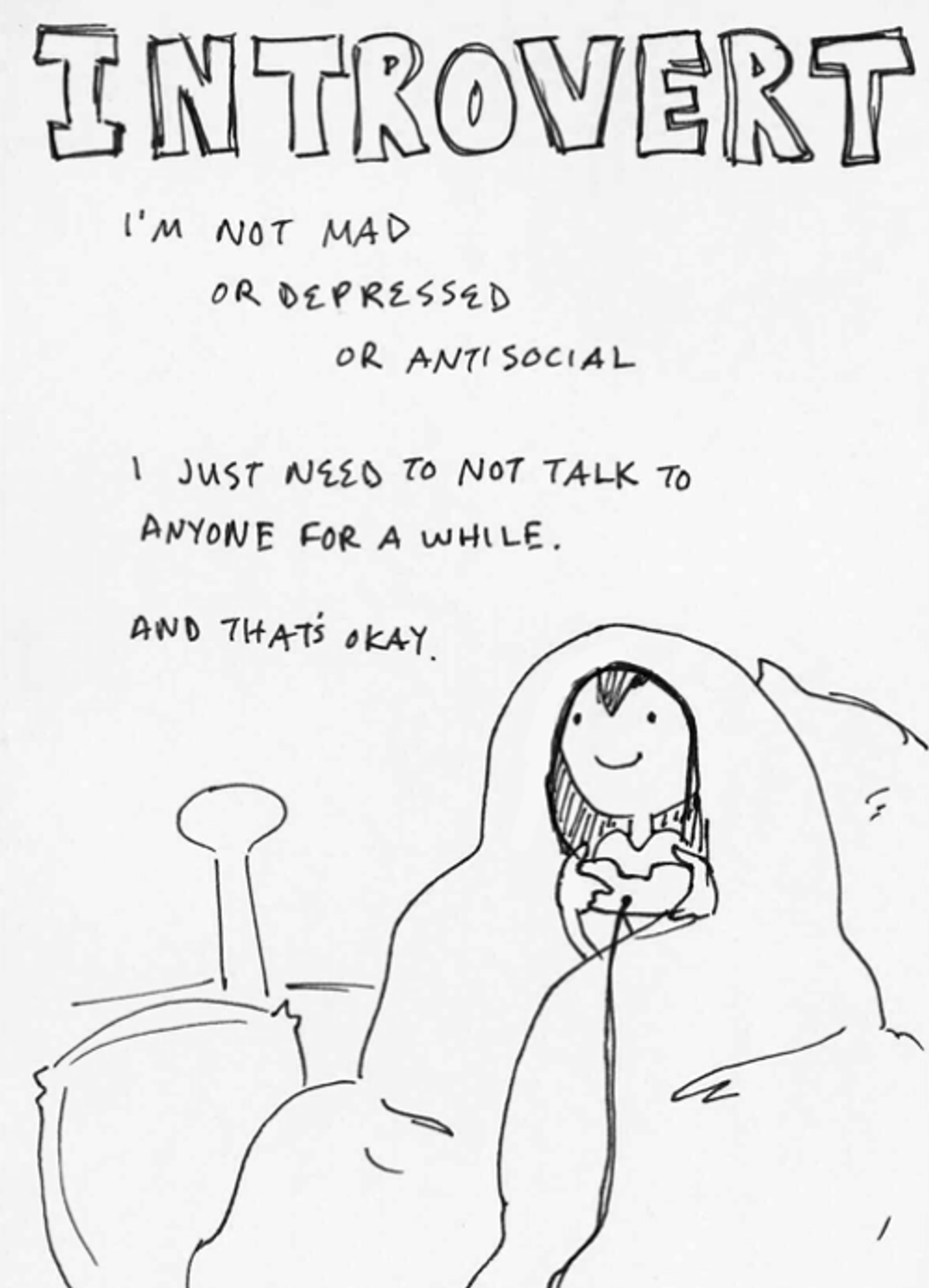 5 Common Misconceptions About Introverts