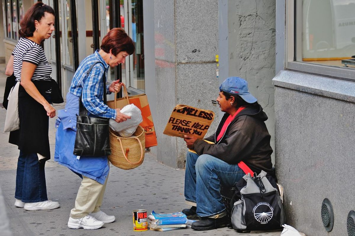 The Worst Thing About Homelessness Is What You'd Never Expect