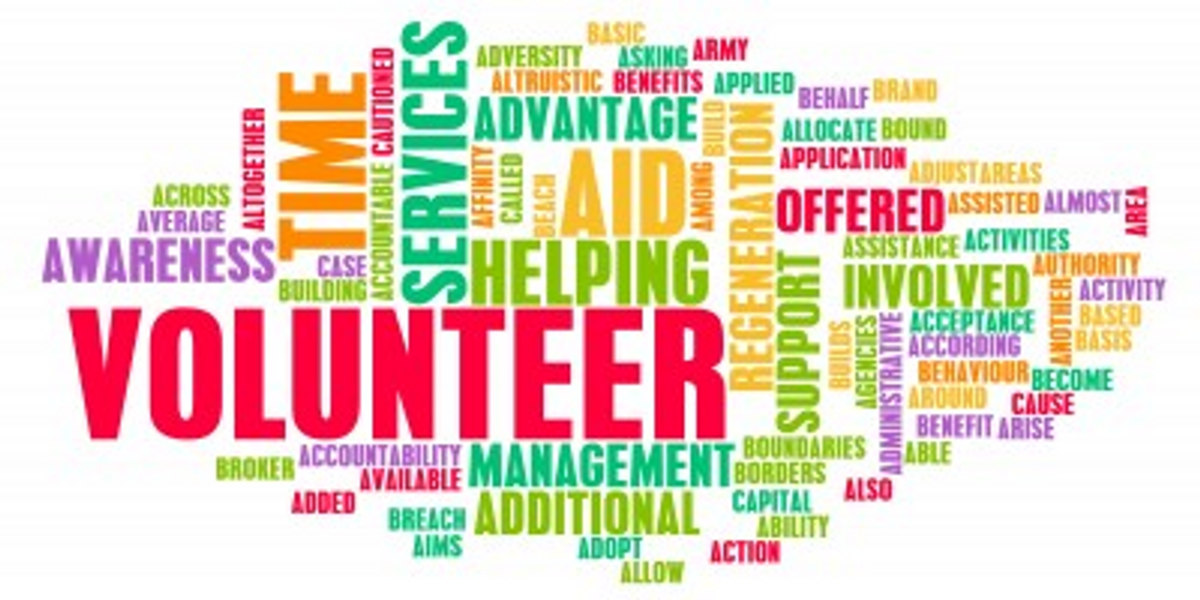 Being A Volunteer Isn't Just About Extra Credit