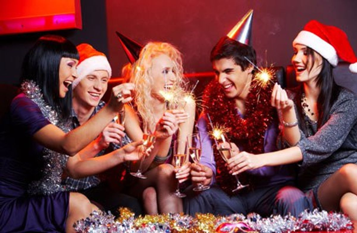 Different Majors At Christmas Parties