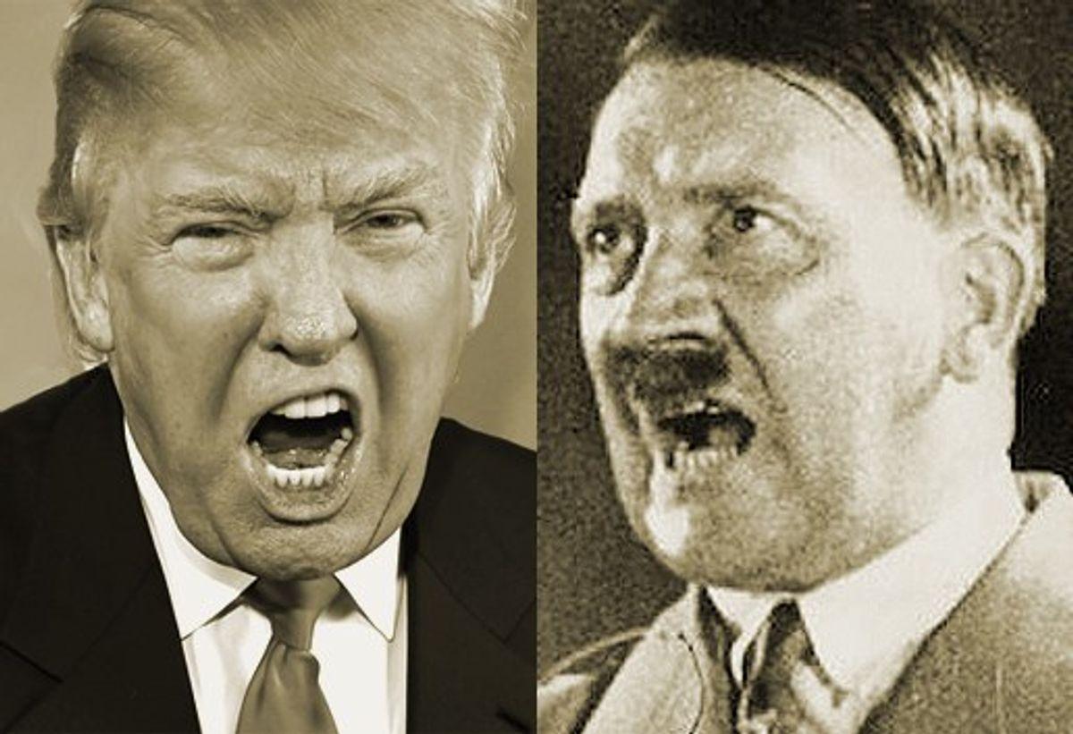 Is Donald Trump Adolf Hitler Reincarnated?