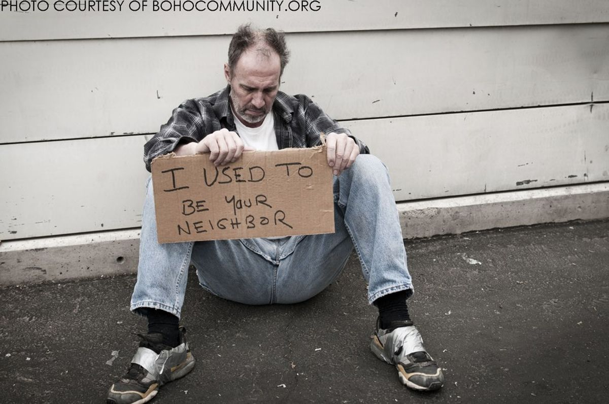 578,000 Live Homeless On Any Given Night