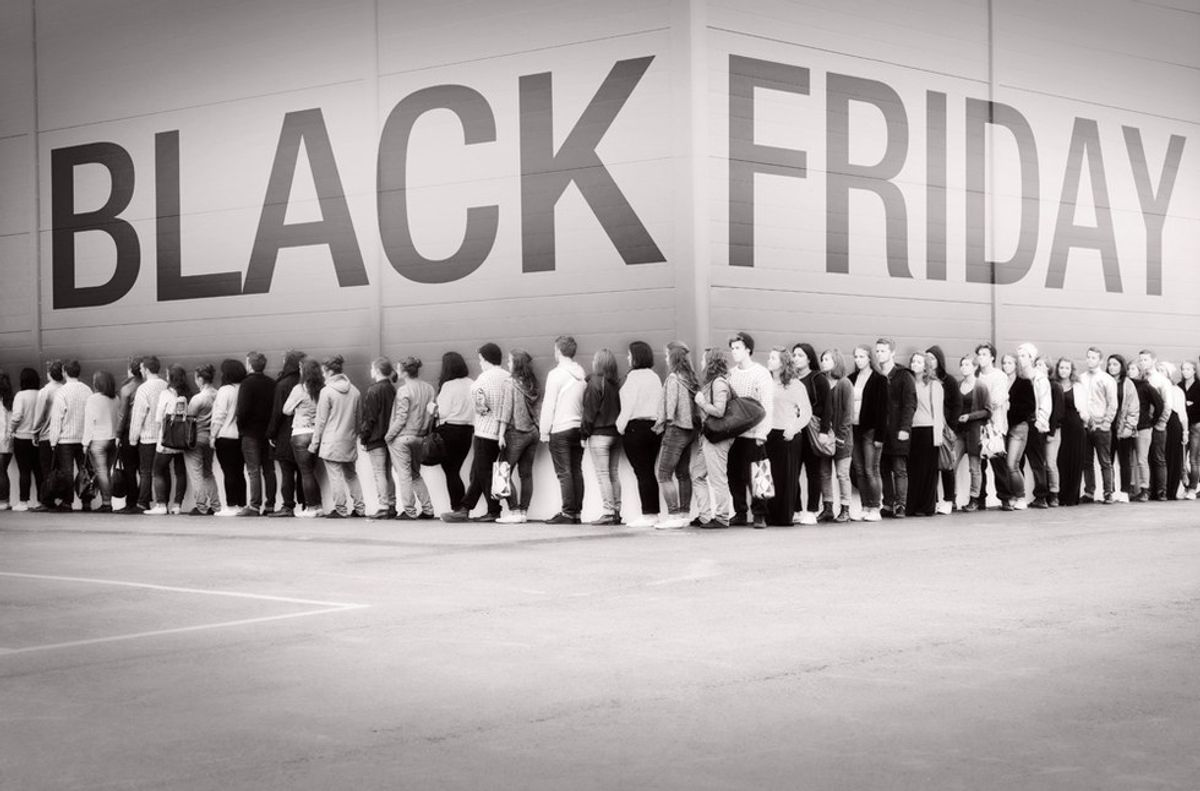 Black Friday—American Consumerism At Its Finest