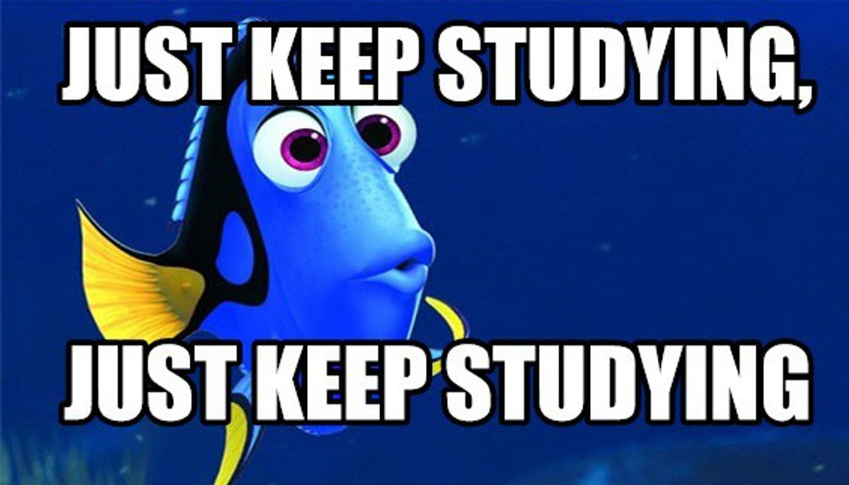 13 Things That Happen During Finals Week