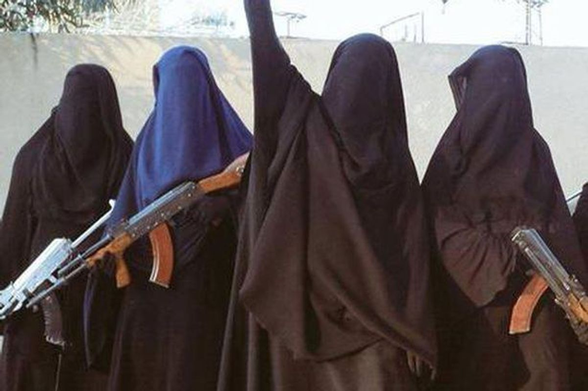 The Power Of The Khansaa Brigade: ISIS' All-Female Morality Police