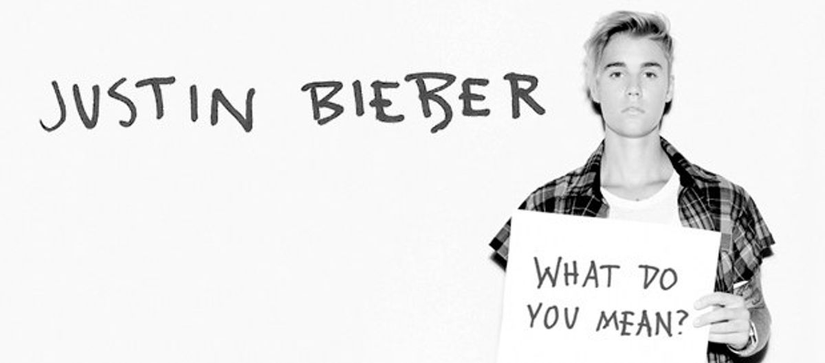 I'm Afraid I Might be a Justin Bieber Fan
