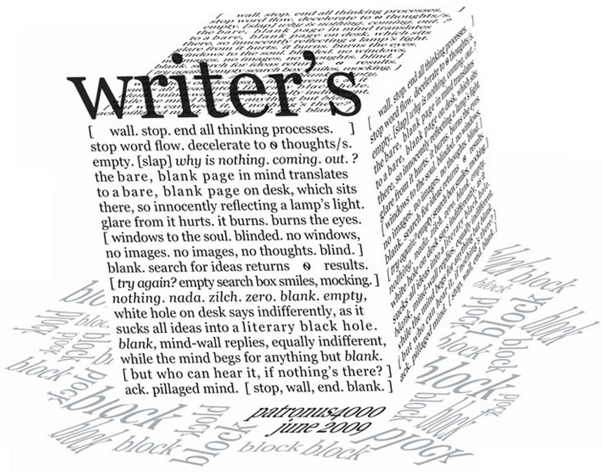 5 Ways To Overcome Writer's Block
