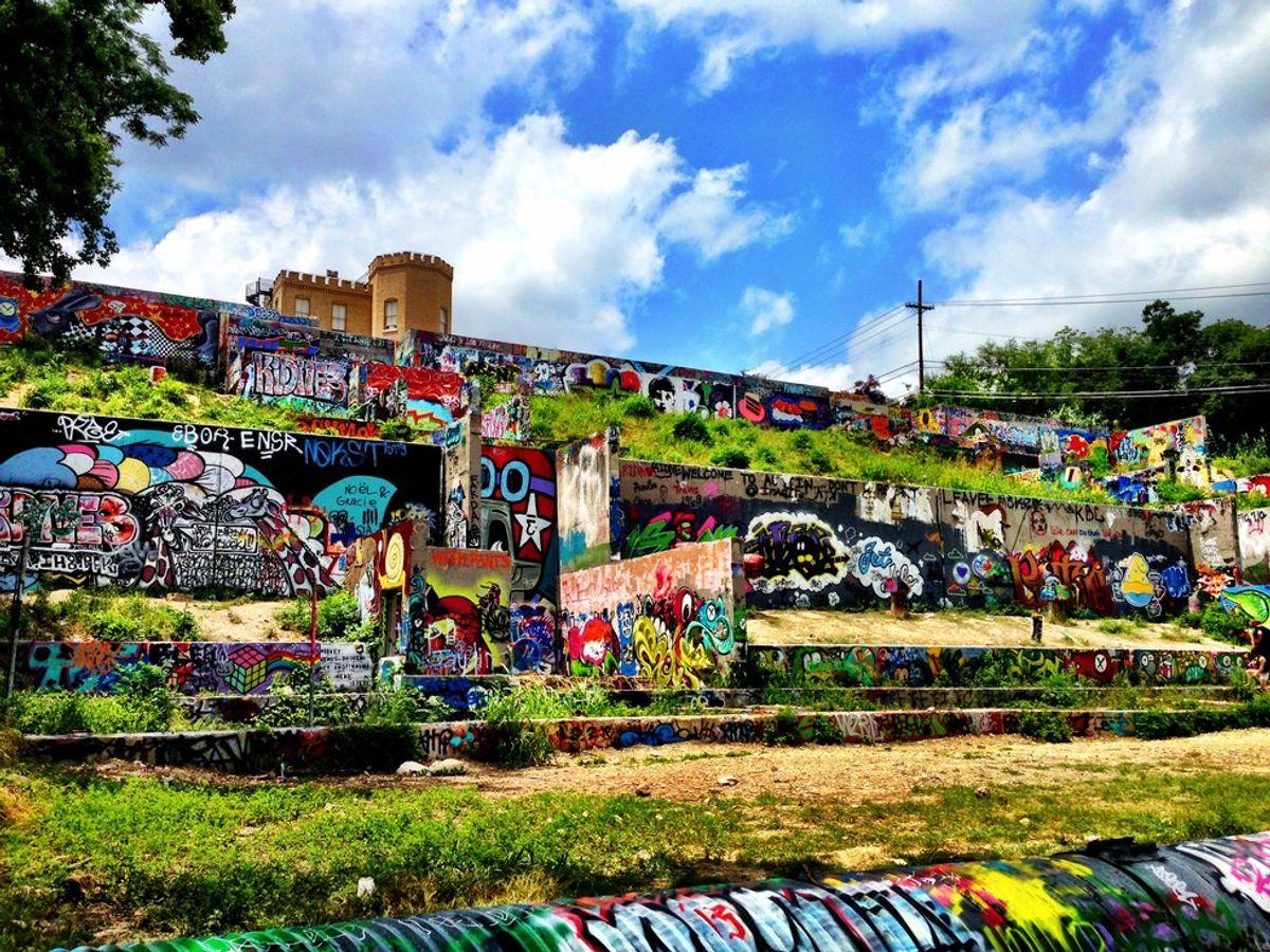Explore Austin's Graffiti Park