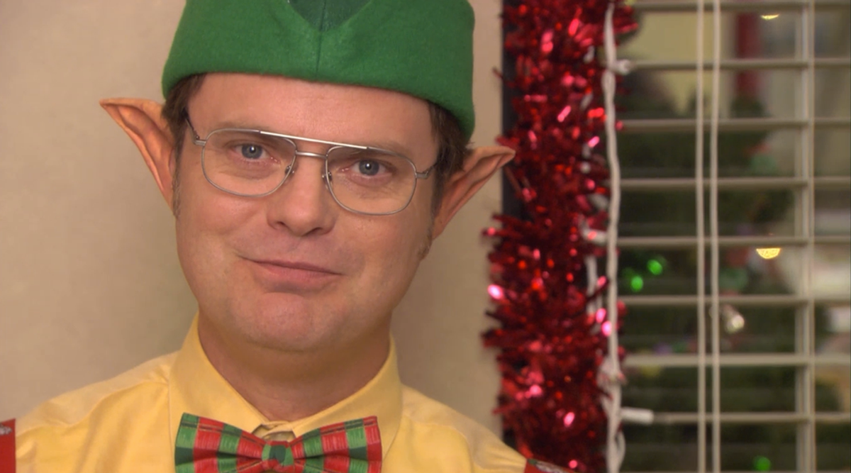 Winter Break According To The Office