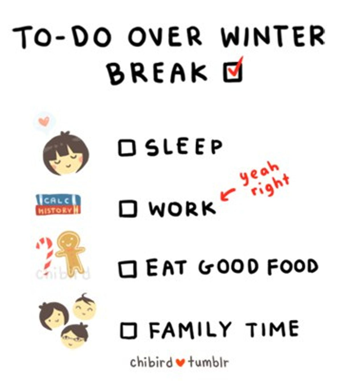 Christmas Break: Do's And Dont's