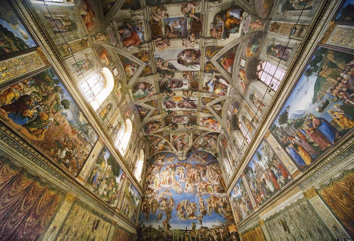 Michelangelo And The Sistine Chapel Ceiling
