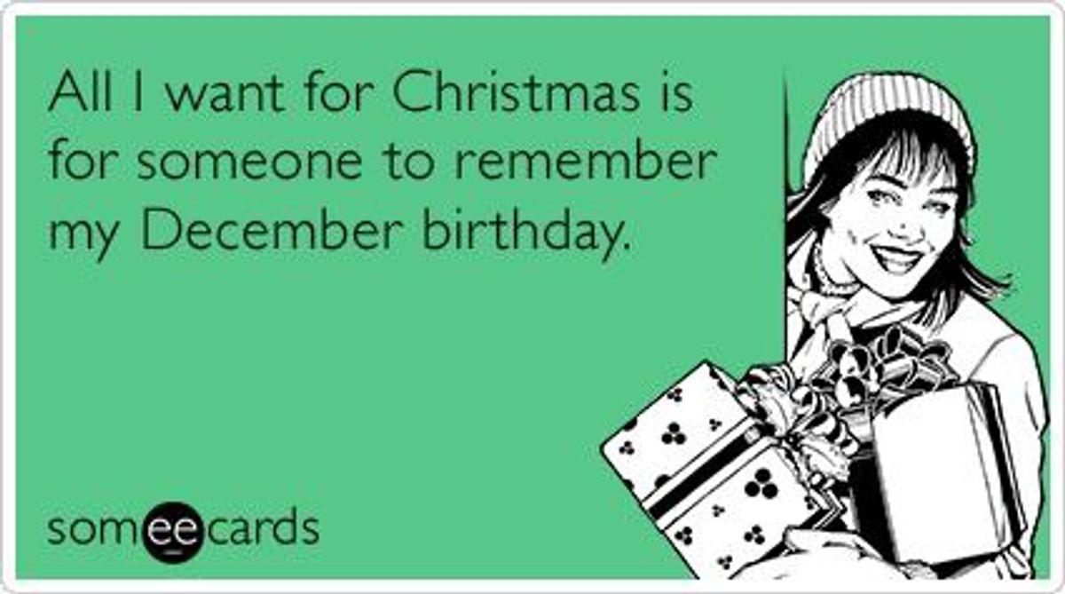 10 Reasons Why I Hate My December Birthday