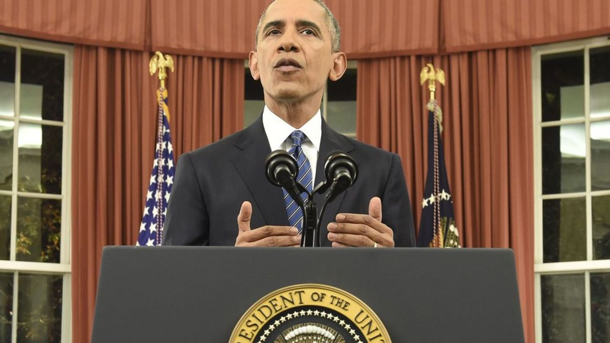 Obama's Address: Guns And Terrorists Are Just The Tip Of The Iceberg