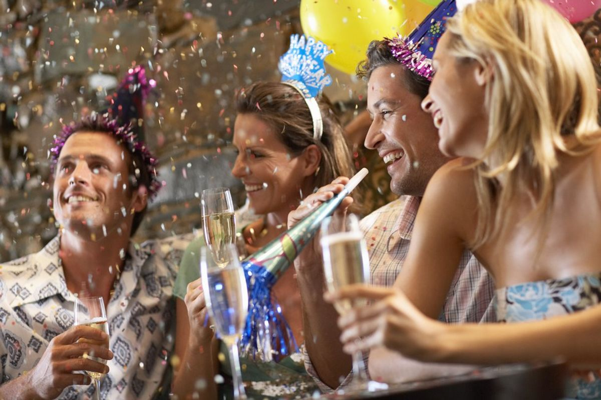 Ringing In The New Year: Why I Don't Need To Kiss Someone At Midnight