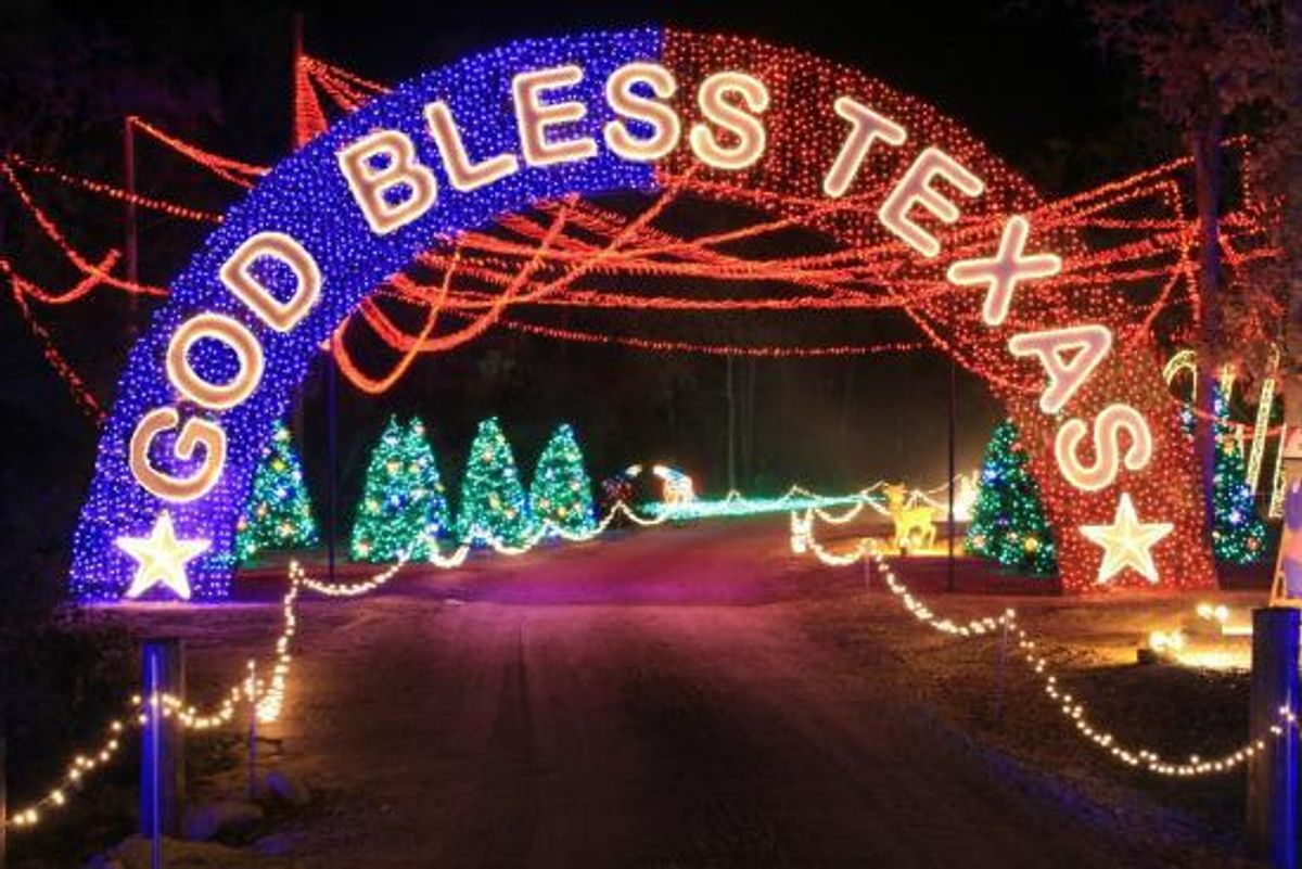 The Best Christmas Lights In Texas And Tennessee
