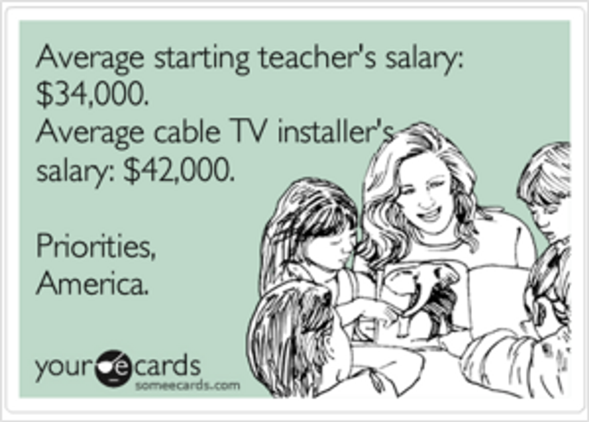 Why I Believe North Carolina Teachers Are Underpaid And Underappreciated