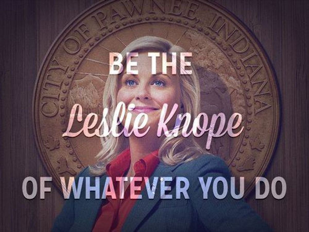 10 Reasons To Be Like Leslie Knope In 2016