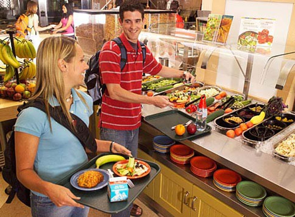 No, College Dining Hall Food Isn't The Worst