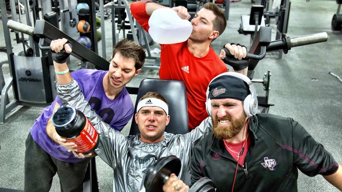 The Types Of People You See At The Gym