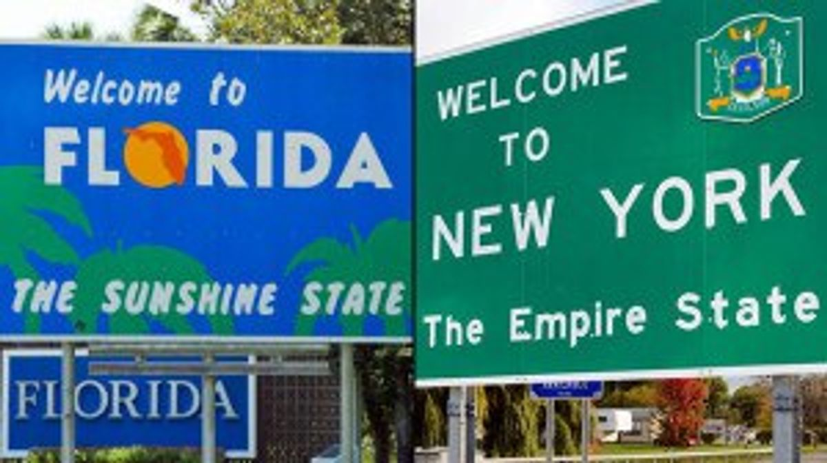 What It's Like To Be A New Yorker Living in Florida