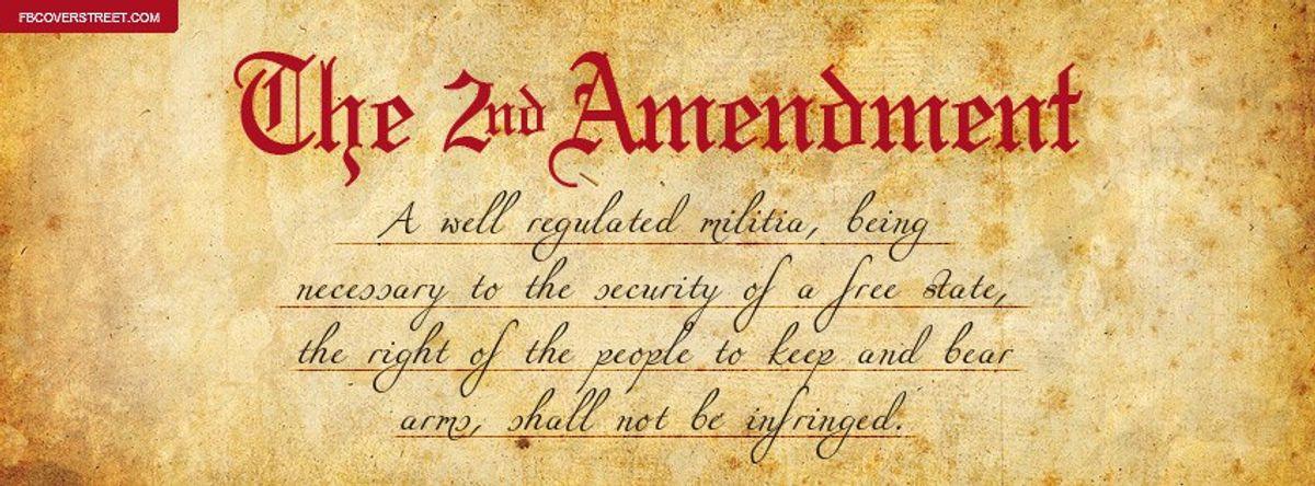 A Brief History Of The Second Amendment